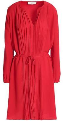 Vanessa Bruno Athe' Pleated Crepe Dress