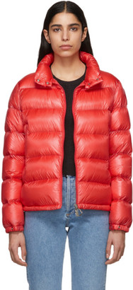 Moncler Red Down Copenhagen Jacket