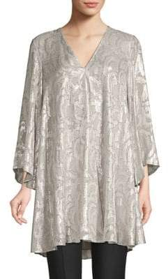 Elizabeth and James Paloma Jacquard Silk Tunic
