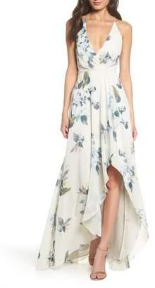 Jenny Yoo Farrah Halter Gown