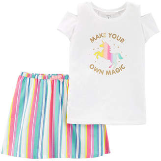 Carter's 2-pc. Skirt Set Preschool / Big Kid Girls