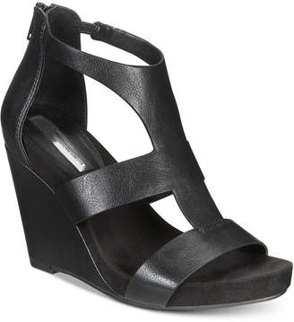 INC International Concepts I.n.c. Women's Lilbeth Wedge Sandals, Created for Macy's Women's Shoes