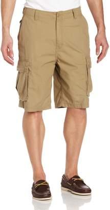 Nautica Men's Ripstop Cargo Short, Khaki, 32