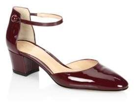 Gianvito Rossi Patent Leather Mary Jane d'Orsay Pumps