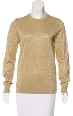 Michael Kors Metallic Crewneck Sweatshirt