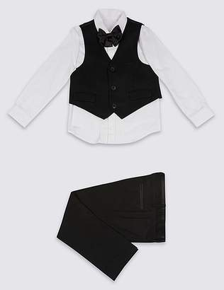 Marks and Spencer 4 Piece Tuxedo Outfit (3 Months - 7 Years)