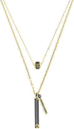 Henri Bendel Miss Bendel Double Necklace