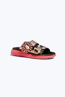 CONTEMPORARY Sage Embellished Sandal
