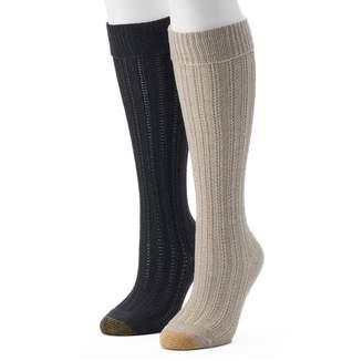 Gold Toe Goldtoe Women's GOLDTOE 2-pk. Cable-Knit Knee-High Socks