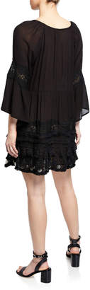 Raga Ginger Tunic Dress w/ Coin Hem