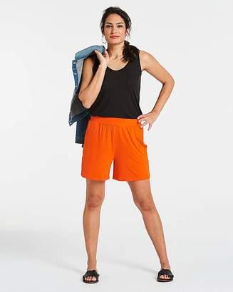 Fashion World Jersey Pull On Shorts