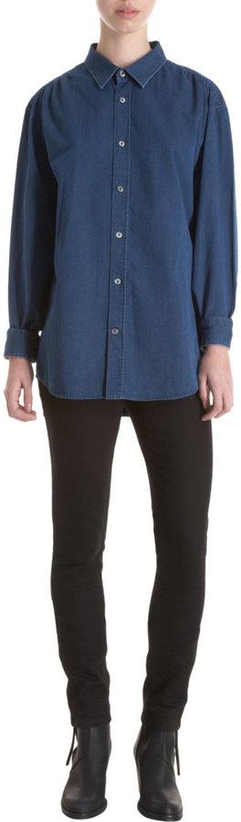 Snowdon x Acne Denim Button Front Shirt