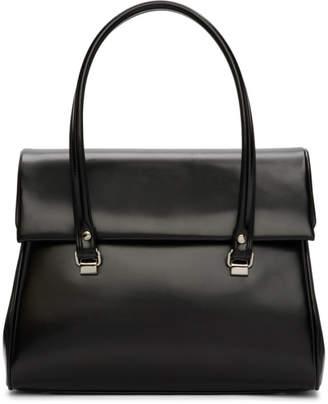 Comme des Garcons Black Foldover Duffle Bag