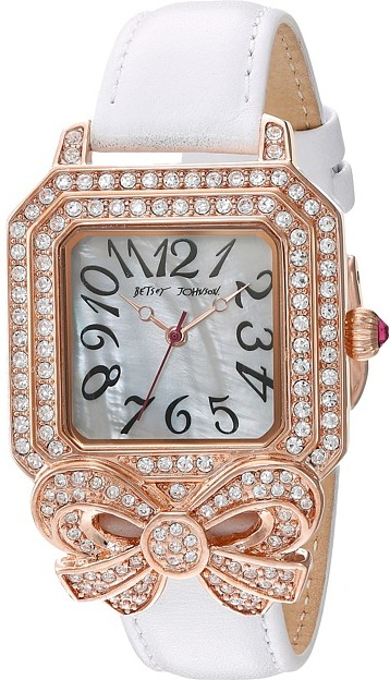 Betsey Johnson Betsey Johnson - BJ00623-03 - Crystal Bow Watches