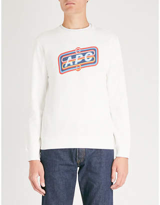 A.P.C. Psy cotton-jersey jumper