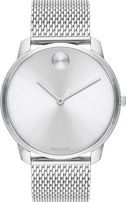 Movado Bold Mesh Bracelet Watch, 42mm