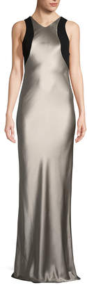 Narciso Rodriguez Charmeuse Long Silk Gown