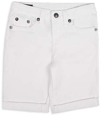 True Religion Boys' Geno Rolled Cuff Shorts - Little Kid