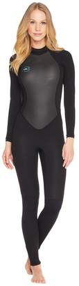 O'Neill Reactor-2 3/2 Back Zip Full Women's Swimwear
