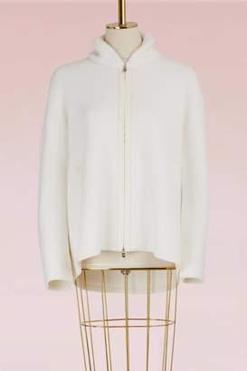 Loro Piana Bering zippered bomber jacket