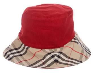 Burberry Reversible Nova Check Hat