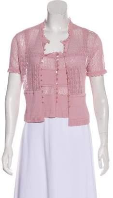 Christian Dior Knit Cardigan Set