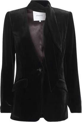 Frame Velvet Noir Jacket