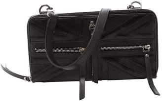 JC de CASTELBAJAC Leather Clutch Bag