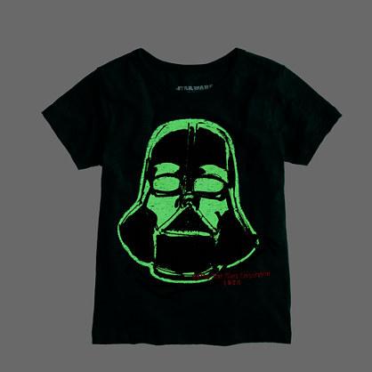 Star Wars Boys' glow-in-the-dark Darth Vader Star WarsTM tee