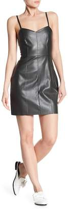 Bishop + Young Sienna Faux Leather Minidress