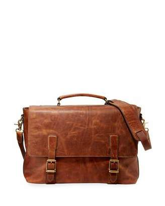 Frye Men's Logan Top Handle Flap Briefcase