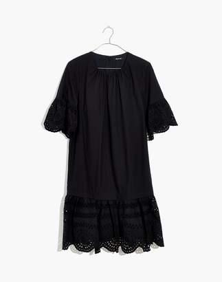Madewell Eyelet Drop-Waist Dress
