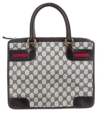 402c6f08fb6a Pre-Owned at TheRealReal · Gucci Vintage GG Plus Web Tote