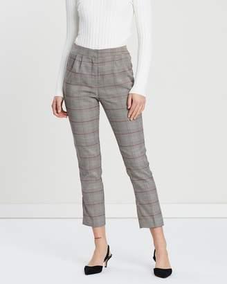 Forcast Ayleena Check Pants