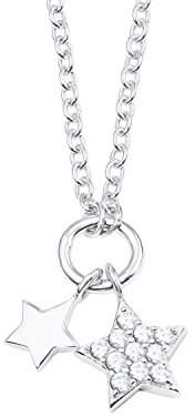 S'Oliver Girls Silver Pendant Necklace - 2022697