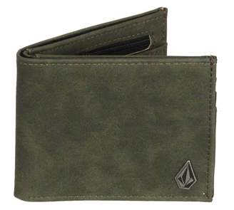Volcom Men's Slim Stone Pu Wallet Accessory