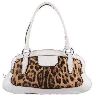 Dolce & Gabbana Animalier Shoulder Bag
