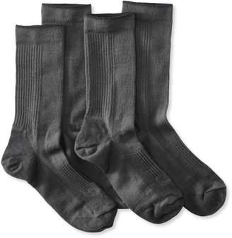 L.L. Bean L.L.Bean Men's Everyday Chino Socks, Lightweight Two-Pack
