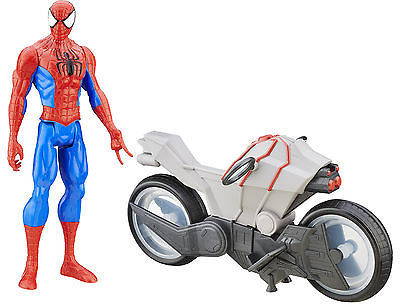 Marvel Ultimate Spider-Man Vs. The Sinister Six: Titan Hero Series Spider-Man w/ Cycle