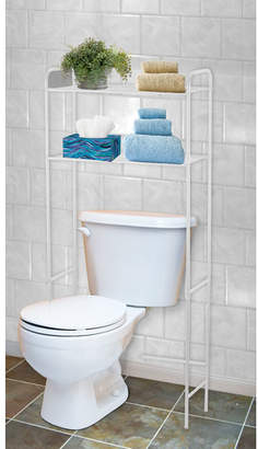 "Home Basics 23"" W x 54"" H Over the Toilet Storage"