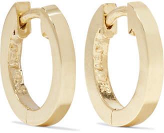 Huggy Small 18-karat Gold Hoop Earrings