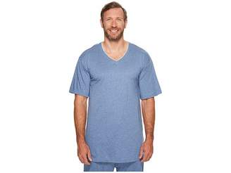Tommy Bahama Big Tall Cotton Modal V-Neck Short Sleeve T-Shirt Men's T Shirt