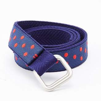 Blade + Blue Red & Blue Polka Dot Belt by One Magnificent Beast