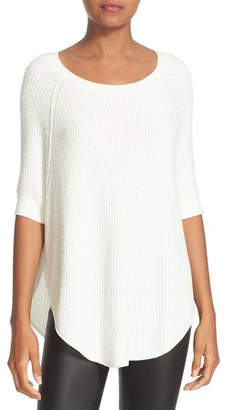 Women's Alice + Olivia Parcell Curved Hem Tunic $250 thestylecure.com