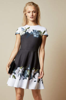 Ted Baker Opal Printed Skater Dress