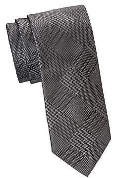 Saks Fifth Avenue Men's COLLECTION Glen Plaid Formal Tie