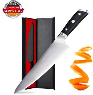 Equipment Rackaphile Pro Kitchen 8 inch Chef's Knife High Carbon Stainless Steel Sharp Knives Ergonomic