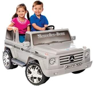 Kid Motorz Mercedes Benz G55 AMG 2-Seater 12-Volt Ride-On in Silver $449.99 thestylecure.com