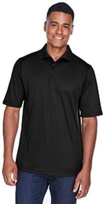 Ash City - Extreme Men's Eperformance Shield Snag Protection Short-Sleeve Polo - BLACK 703 - 4XL 85108