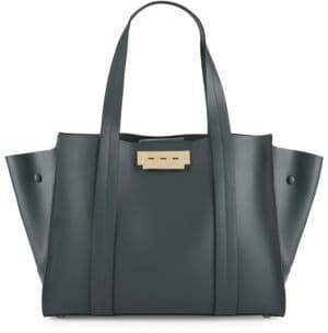 Zac Posen Leather Winged Tote